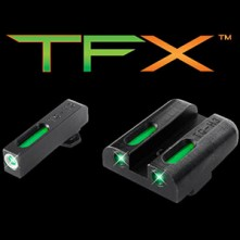 TRUGLO TFX Tritium sight set