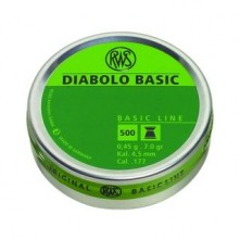 RWS Diabolo Basic 4,50mm
